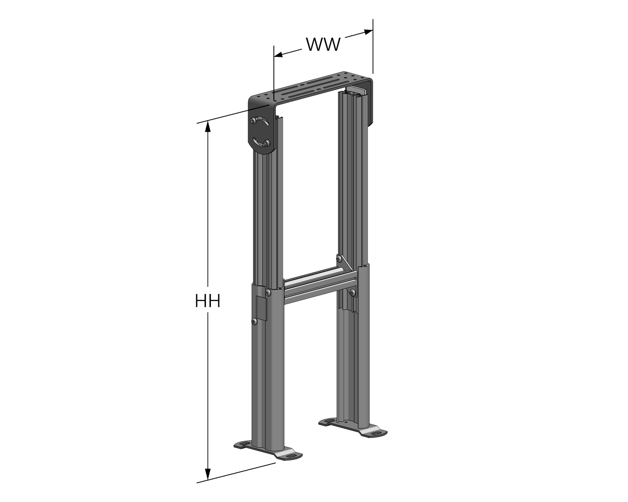 Adjustable Height Stand